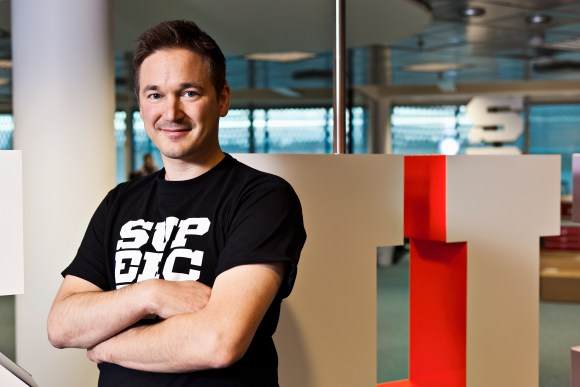 Ilkka Paananen, co-founder and CEO of Supercell