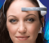 Neurosky's Mindwave uses one single sensor, which is placed on your forehead