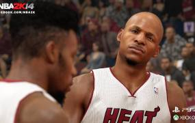 2K Games' NBA 2K14 is one of the best-looking next-gen titles.