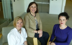 Illuminate's Rebecca Norlander, Cindy Padnos and Sarah Cone