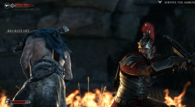 Ryse: Son of Rome is one of the big launch titles for Xbox One.