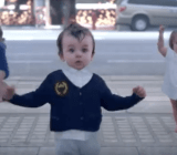We are all suckers for dancing babies.