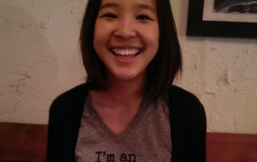 When Tyra Banks sends you a cool t-shirt, you wear it. Just like Locket CEO Yunha Kim.