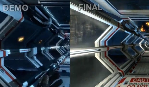 Aliens: Colonial Marines comparison