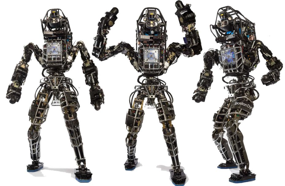 The Atlas robot, by Boston Dynamics.