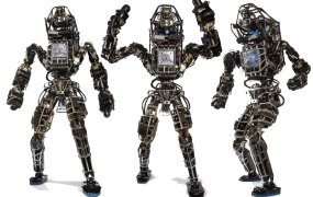 The Atlas robot, by Boston Dynamics.