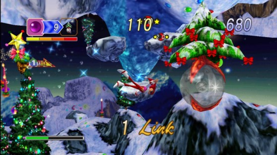 The Christmas special of Nights Into Dreams for Sega Saturn.