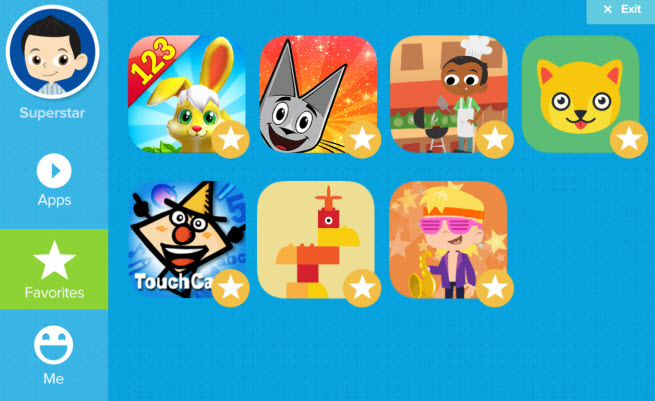 Fingerprint Digital provides safe kids apps for Samsung tablets.