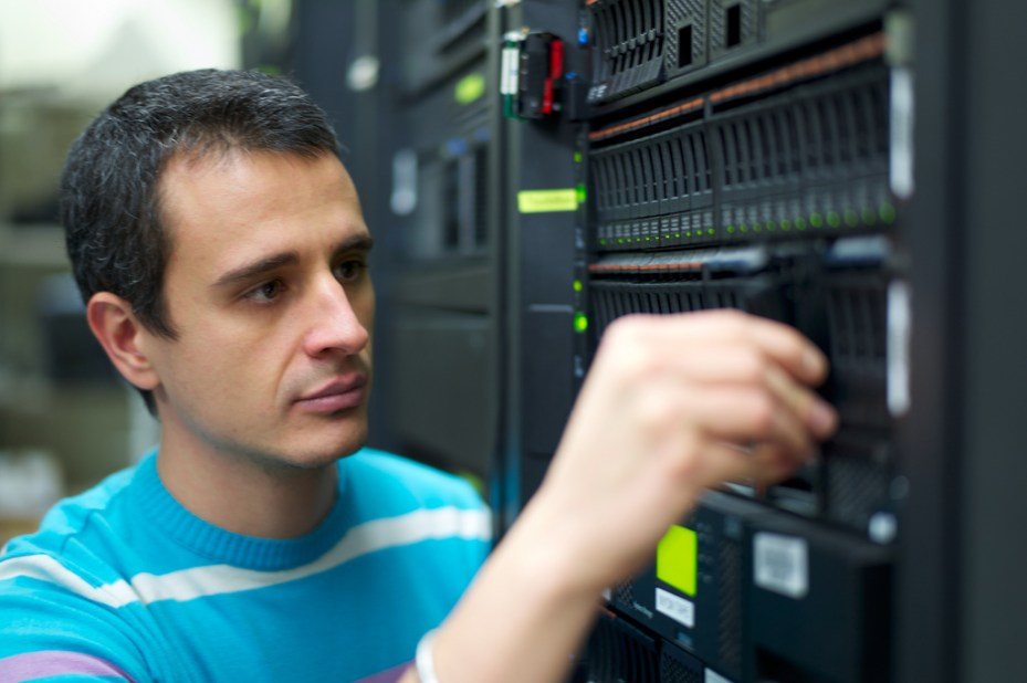 Alessandro Sorniotti, a  cloud security scientist at IBM Research. Sorniotti worked on new IBM technology to enable data to move from one cloud to another.