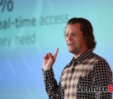 Josh James, chief executive of Domo, speaks at the 2013 DataBeat/Data Science Summit.