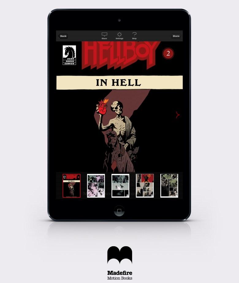 Madefire Hellboy