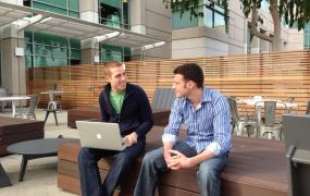Distinc.tt cofounders Michael Belkin and Thomas McAfee