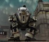The new Ogre class Titan in Titanfall.