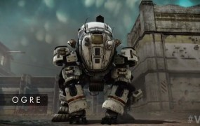 The new Ogre class Titan in Titanfall.