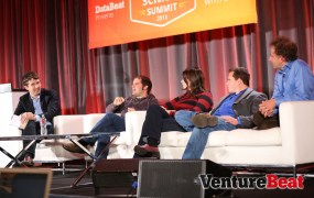 Michael Driscoll of Metamarkets; Pete Warden of Jetpac; Monica Rogati of Jawbone; Peter Skomoroch, formerly of LinkedIn; and Jeremy Howard of Singularity University.