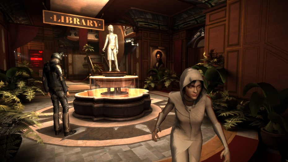 Republique for iOS has players using touch controls to help navigate a character past guards and traps.