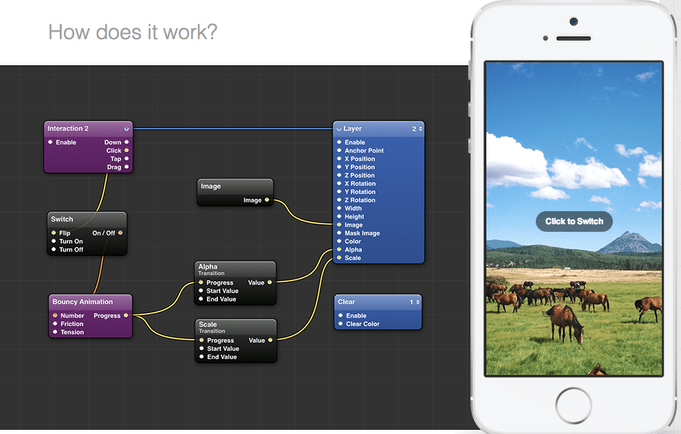 Facebook's open-source tool for zero-code mobile app design.