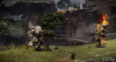 Titanfall's Ogre can rip a rival to shreds