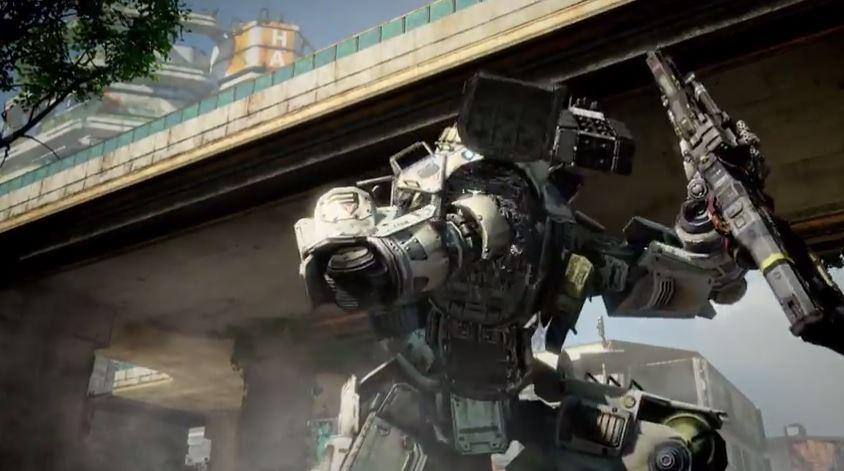 Titanfall's Atlas robot armor.