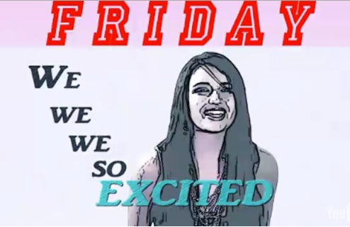 Rebecca Black, Friday