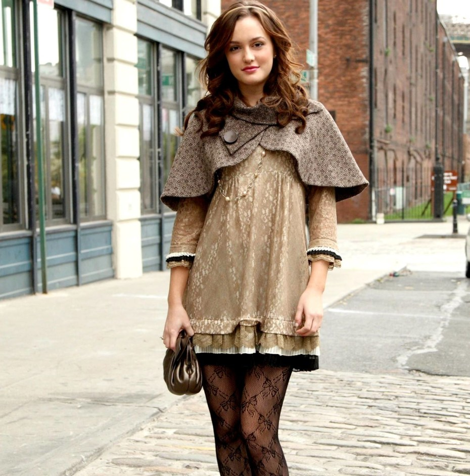 The ever-stylish Blair Waldorf from Gossip Girls