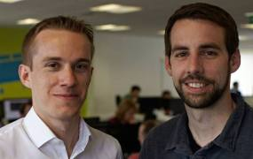 SwiftKey cofounders Jon Reynolds and Ben Medlock.