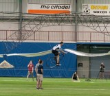 AeroVelo winning the Sikorsky prize for a human-powered helicopter.