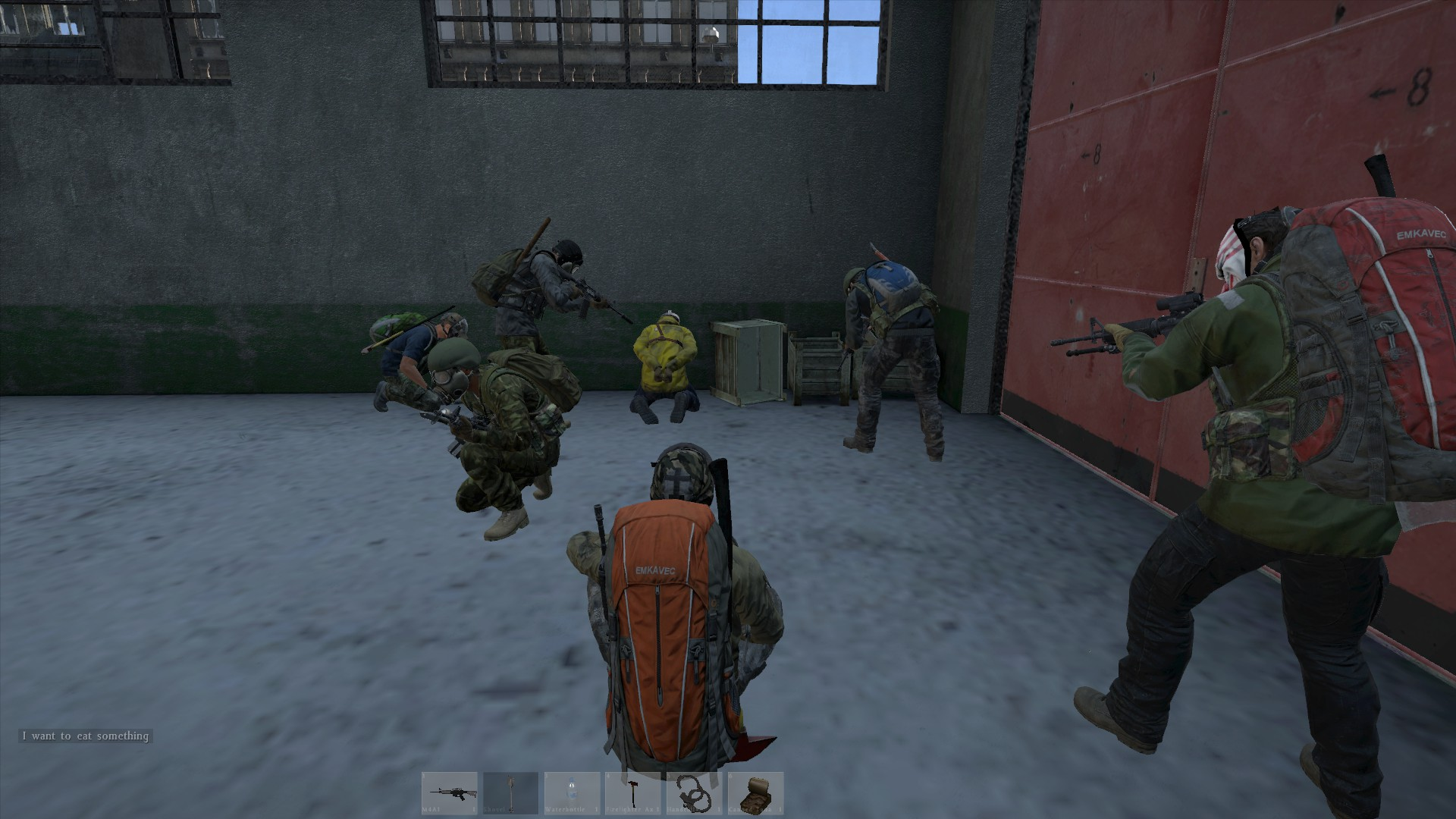 DayZ in action on the PC.