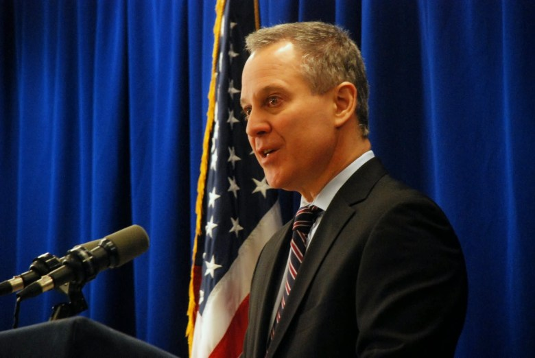 New York's attorney general Eric Schneiderman.