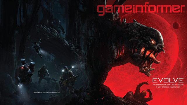 The cover of the next issue of Gameinformer Magazine.