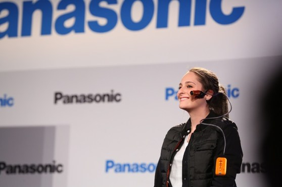 Panasonic face cam