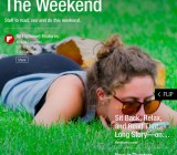 "Flipboard's redesigned ""Weekend"" section."