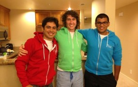 Fluc founders Tim Davis, Pako Magdaleno, and Adam Ahmad.