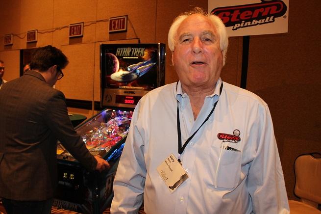 Gary Stern of Stern Pinball