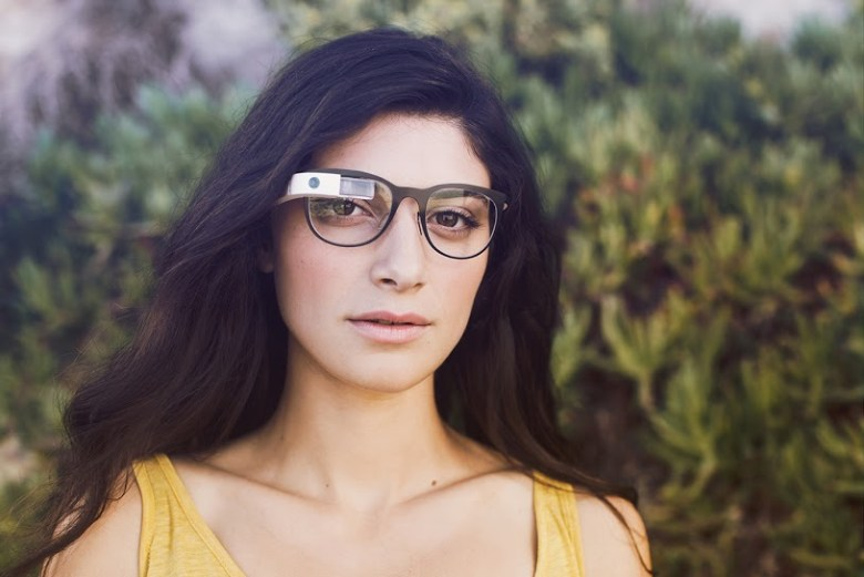 google glass prescription frame
