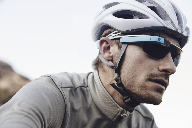 Google Glass with sunglasses