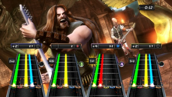 Guitar Hero gameplay