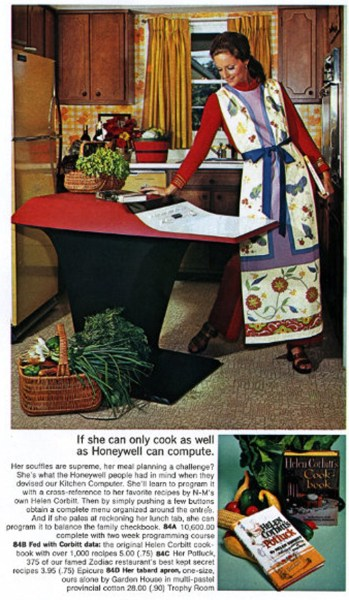 Honeywell's Kitchen Computer.