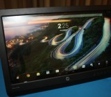 HP's 21-inch all-in-one Slate runs on Google's Android operating system.