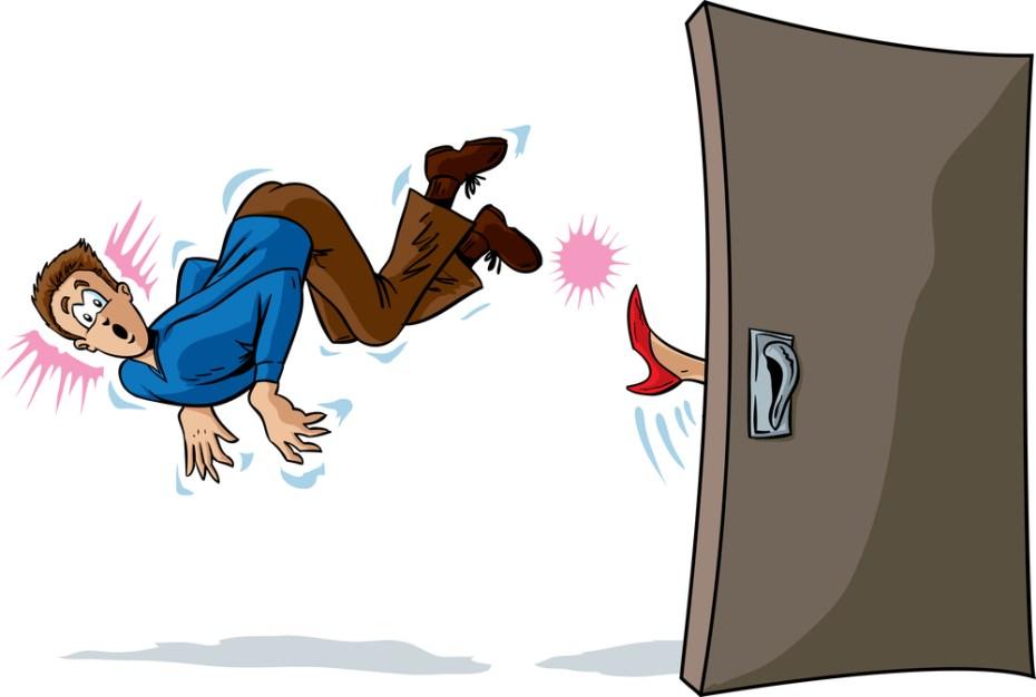 kick out door shutterstock danomyte
