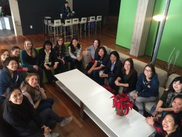 A Lean In circle at NerdWallet