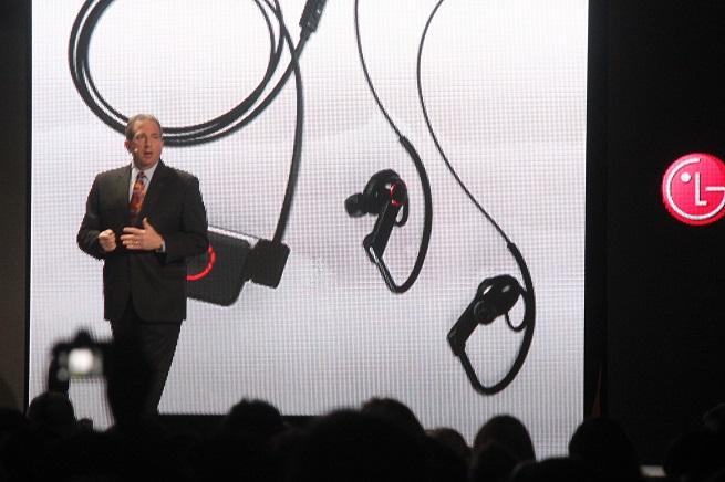 LG heartbeat earphones