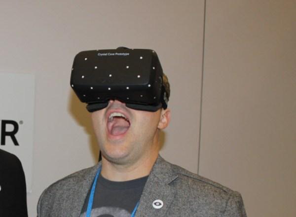 Aaron Davies, head of developer relations at Oculus.