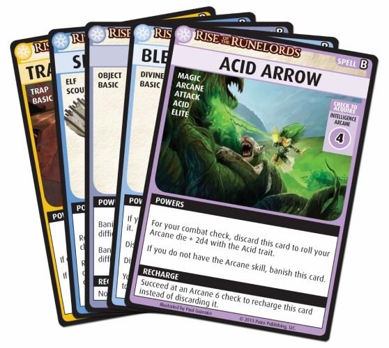 Pathfinder Adventure Card Game - cards