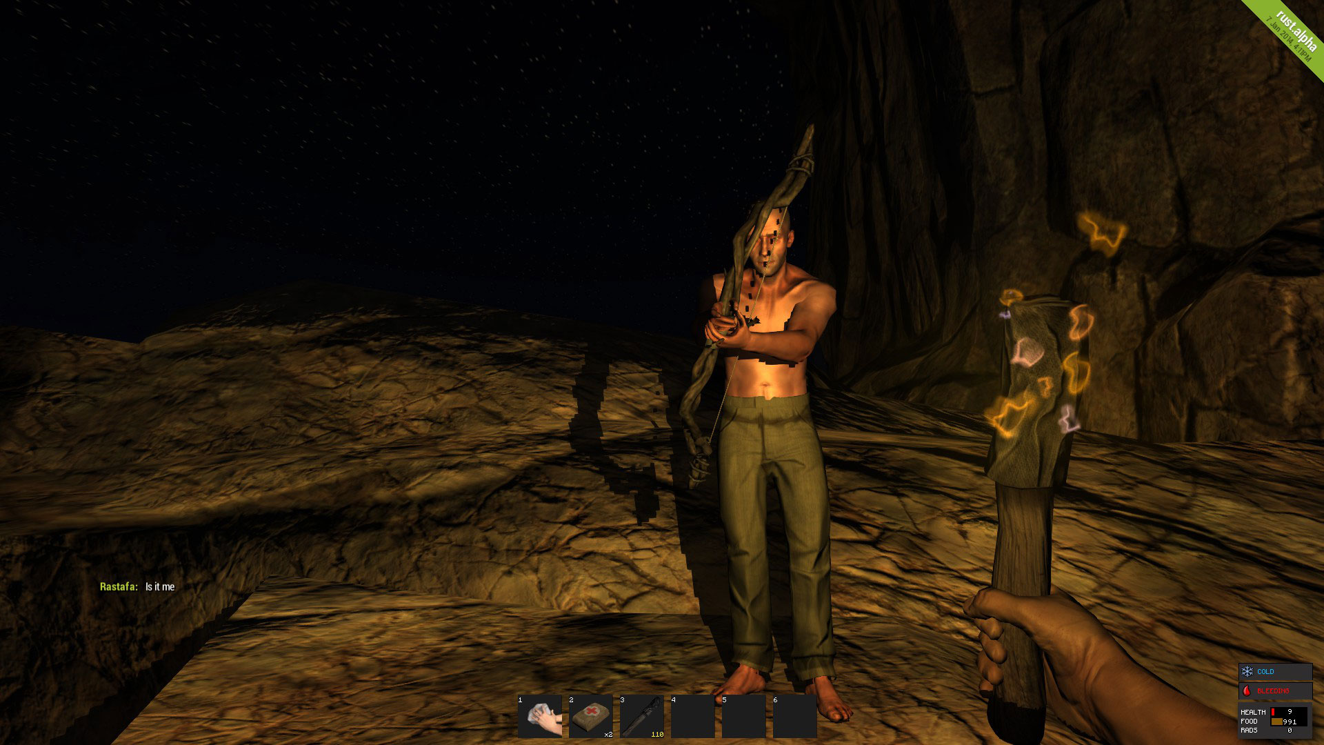 Survival game Rust from Facepunch Studios is a surprise hit on Steam.