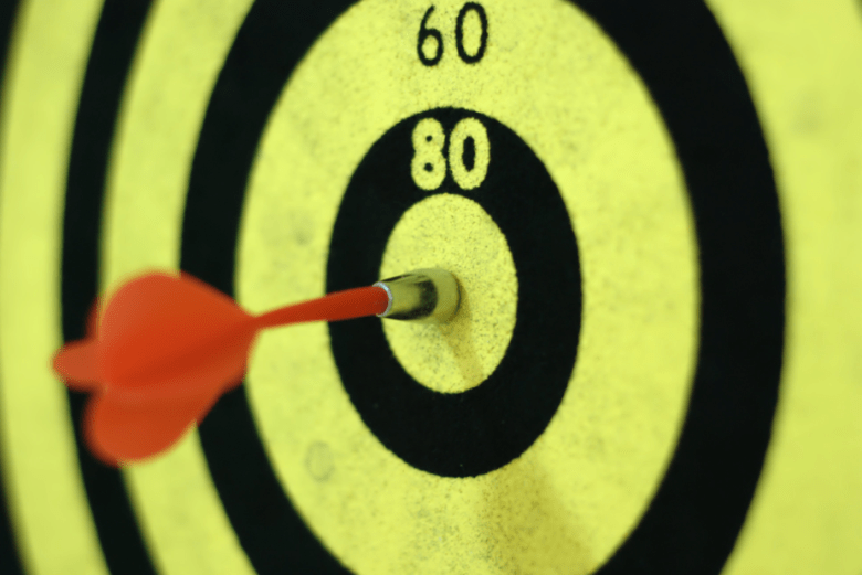 target bulls-eye