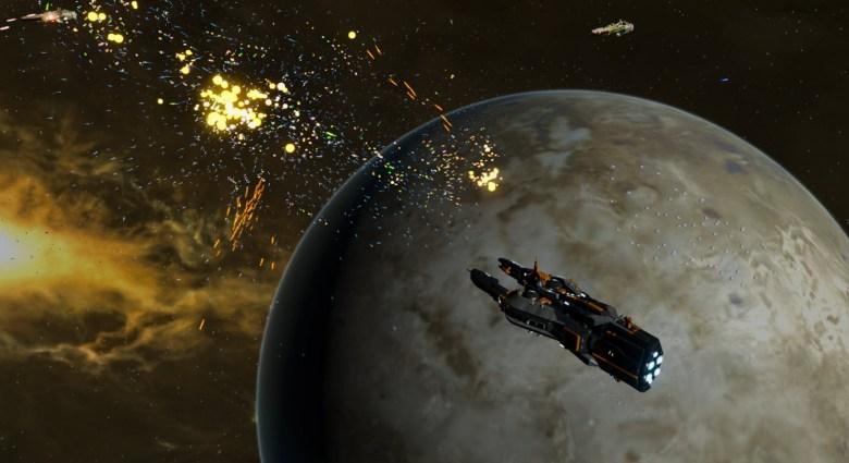 Star Swarm demo moon battle