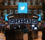 The floor of the New York Stock Exchange during Twitter's IPO on Nov. 7, 2013.