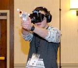 """VRcade uses motion-capture cameras and a headset to deliver """"perfect VR."""""""