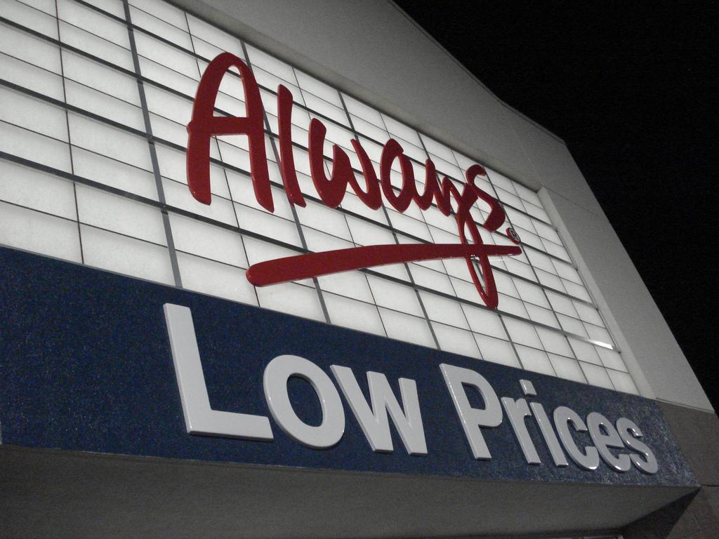 Walmart low prices aka Kath Flickr